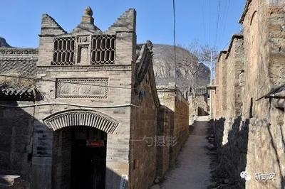 """武安""""中国传统古村落""""—万谷城村"""