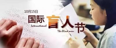 国际盲人节|我是你的眼,带你看世界