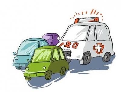 """未避让执勤救护车 出事故私家车""""全责"""""""