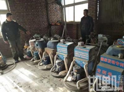 邯郸一木地板装修工发明多功能无尘打磨机