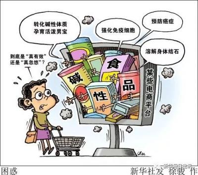 """""""酸碱体质理论""""已破产,我国""""酸碱论""""谣言仍流行,相关产品销量不降反升"""
