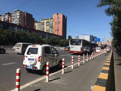 邯郸市主城区查处严重违法低速电动车6530辆