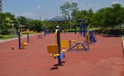 邯郸峰峰矿区加大群众体育健身设施投入