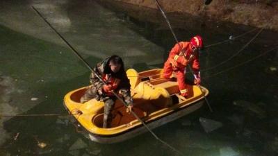 三人酒后溺水一人生还 邯郸消防紧急营救