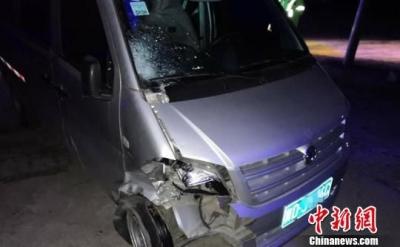 一男子邯郸酒驾邢台肇事 驾驶爆胎车逃百里在衡水被查获