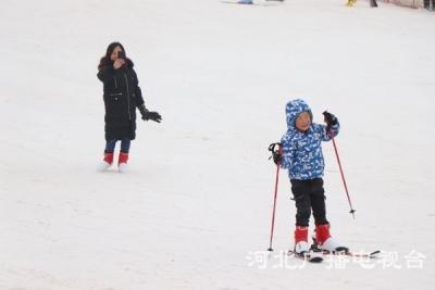 邯郸:新春滑雪过年时尚风