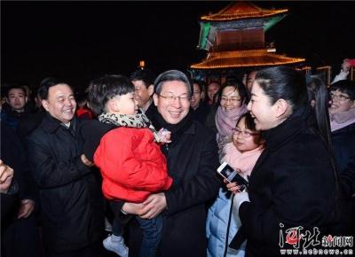 王东峰在正定县调研检查古城保护工作