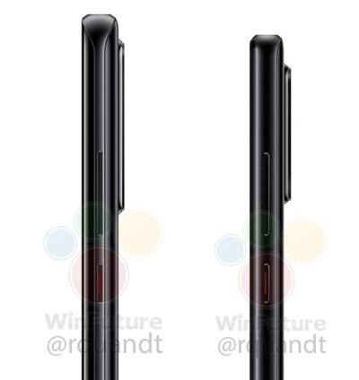 华为P30 Pro和P30侧面照揭晓:3月26日发布
