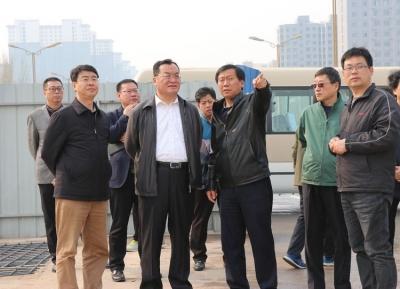 邯郸市人大常委会副主任李书生到复兴区视察路网建设情况