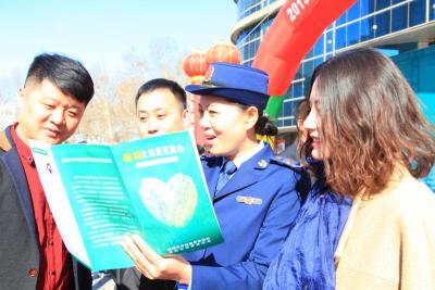 """邯郸市市场监管局组织开展""""3·15""""国际消费者权益日现场宣传活动"""