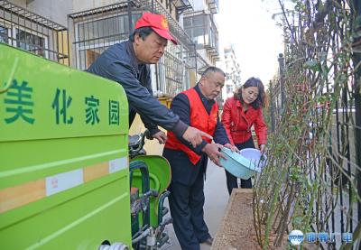 邯郸市文明里社区:绿植管护 连片成荫