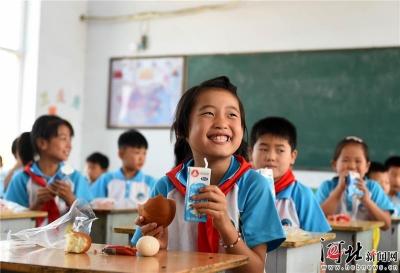 河北扩大农村小学生营养改善计划试点范围