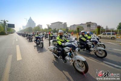 """邯郸:""""六个突破""""推动公安交管工作再上新台阶"""
