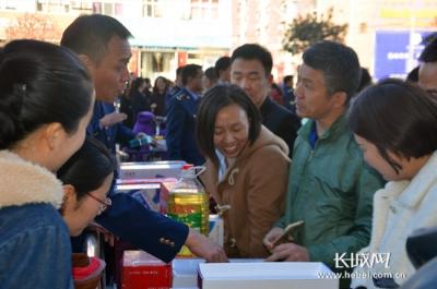 磁县开展3.15国际消费者权益日系列宣传活动