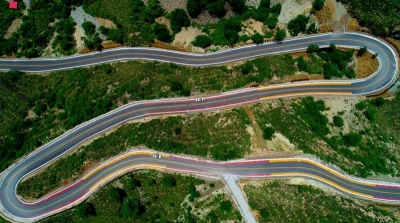 涉县:绿化美化农村公路