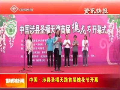 中国·涉县圣福天路首届槐花节开幕