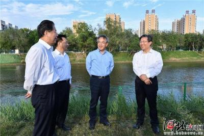 胡春华在天津、河北调研水利工作