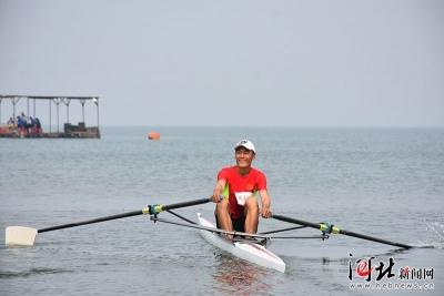 2019年河北省青少年赛艇、皮划艇冠军赛在磁县举行