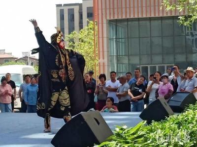 第14届中原文化艺术节在邯郸冀南新区拉开帷幕