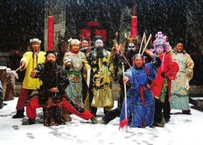 邯郸涉县赛戏上镜亚洲世界遗产影像展