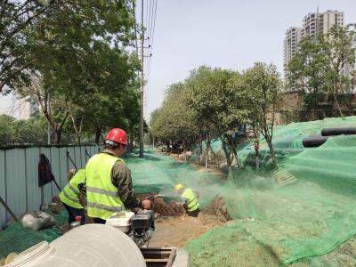 老旧管网大翻新 居民供水有保障