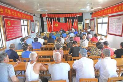 河西社區:頌黨情 憶黨恩 慶祝建黨九十八周年