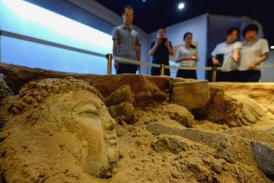 邯郸:博物馆里度假日