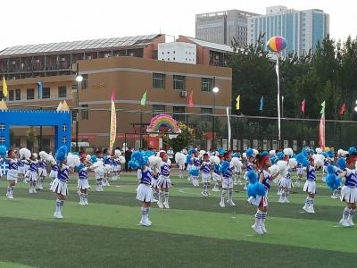 丛台区举办幼儿体育活动:让体育精神点亮快乐童年