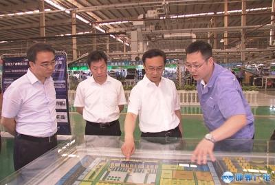 张维亮到经济技术开发区调研