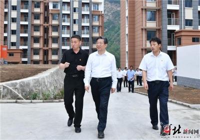 王東峰在保定市調研檢查