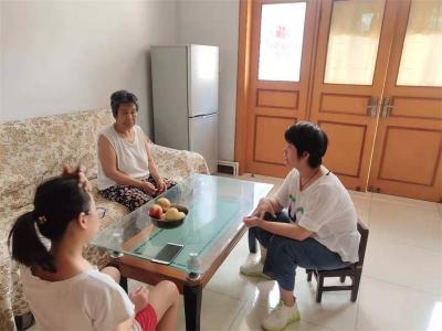 北张庄学区开展暑期防溺水安全教育家访活动