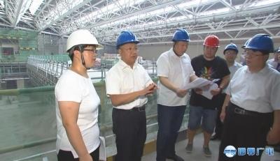 高宏志调研市博物馆迁建项目