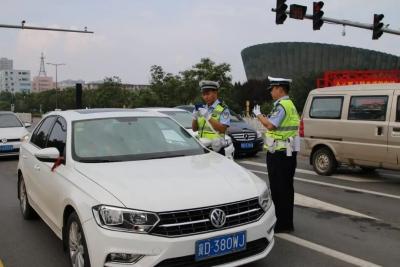 """邯郸交警""""百日行动""""!8月7日以来查处酒驾182起,拘7人。"""