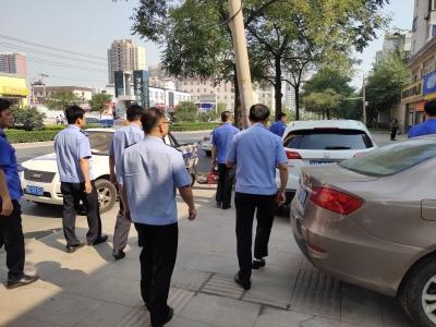 开展联合执法 规范洗车行业秩序