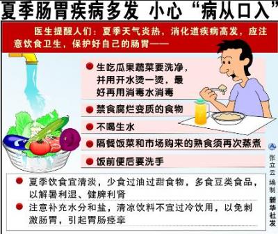 高温天医院消化、肠道门诊忙,专家提醒谨防病从口入