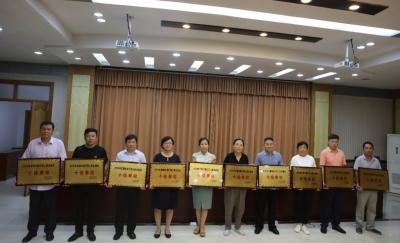 邯郸市践行网上群众路线十佳单位、优秀单位、优秀组织单位出炉