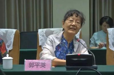 东风剧团建团六十周年座谈会召开,郭沫若两个女儿应邀参加