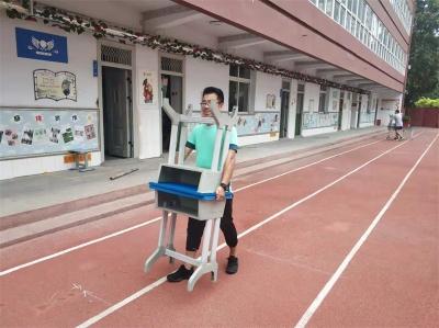 邯山区实验小学:迎开学 乐忙碌