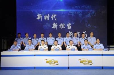 【邯郸问政】邯郸市公安局现场回答公安系统的问题和短板