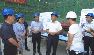 邯郸V视  高宏志调研市博物馆迁建项目