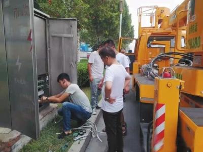 邯郸市针对人民西路老旧电缆进行升级改造