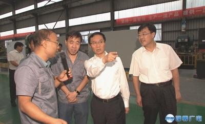 邯郸V视|张维亮到临漳县成安县调研
