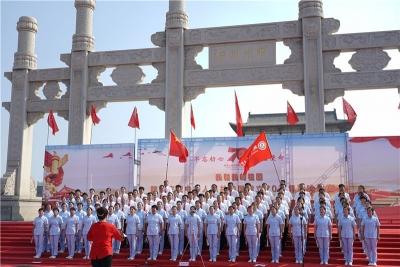 魏县举办《我和我的祖国》千人歌咏比赛大合唱