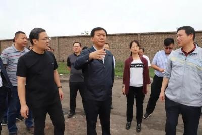 复兴区委书记潘利军现场调研检查环保问题整治工作