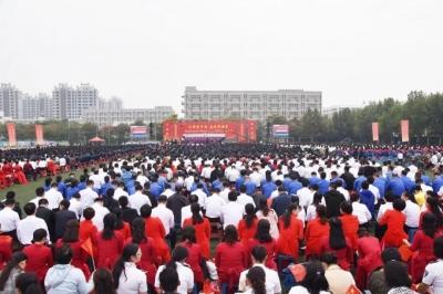超燃!磁县庆祝新中国成立70周年大合唱展演,共庆祖国华诞!