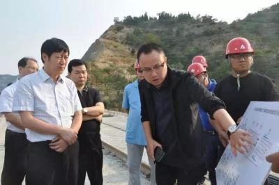 刘中林调研检查太行山高速邯郸段建设情况