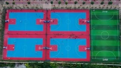 @邯郸人,免费足篮球场在这里,一起运动吧!