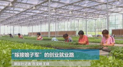 """高端媒体看邯郸 曲周县:""""嫁接娘子军""""的创业就业路"""