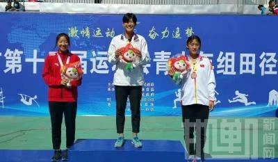 邯郸市第十三届运动会田径比赛产生首金