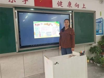 邯山区阳光实验小学:保护牙齿  健康生活